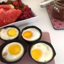 æg og neutella